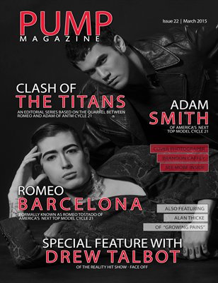 PUMP Magazine Issue 22 - Men's Edition