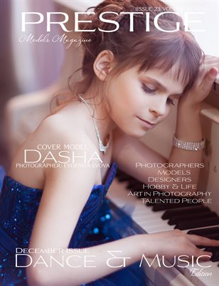 PRESTIGE MODELS MAGAZINE _Dance & Music 23/12