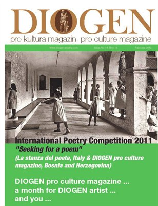 DIOGEN pro art magazine special February SEEKING FOR A POEM 2011
