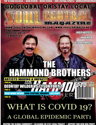 Soul Central Magazine Edition #101 The Hammond Brothers