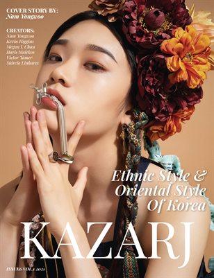 KAZARJ MAGAZINE ISSUE 6 VOL.1 2021