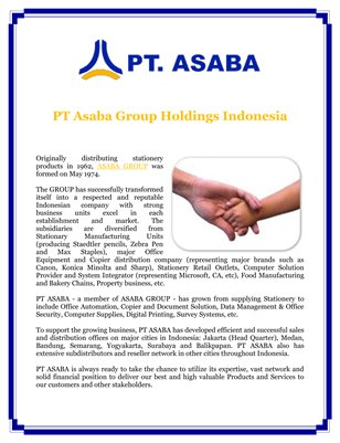 PT Asaba Group Holdings Indonesia