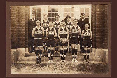 1922 Ballard County High School Basketball Team