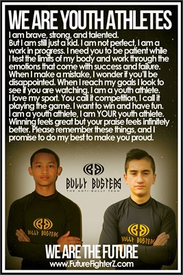 Anjelo & Nico Youth Athletes/Bully Busters - Poster