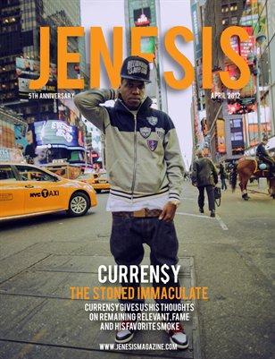 JENESIS Magazine 5th Anniversary Issue Featuring Curren$y