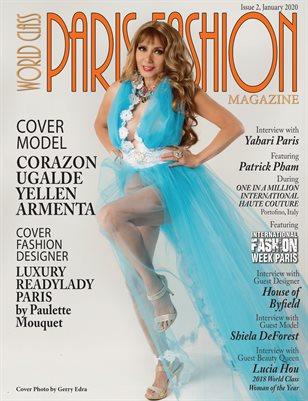World Class Paris Fashion Magazine Issue 2