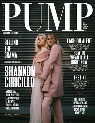 PUMP Magazine - The Fashion & Beauty Edition - Jan 2018