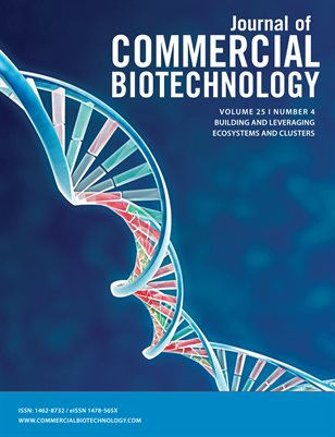 Journal of Commercial Biotechnology Volume 25, Number 4