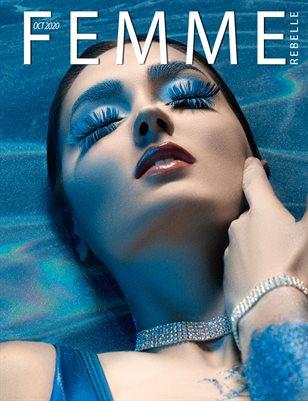Femme Rebelle Magazine October 2020 - BOOK 2 Bineet Mohanty Cover