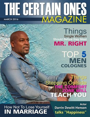 The Certain Ones March Issue 2016