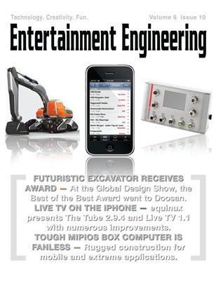 Futuristic Excavator Receives Award