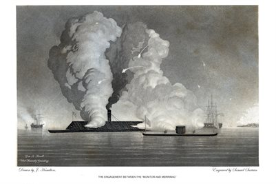 "THE ENGAGEMENT BETWEEN THE ""MONITOR AND MERRIMAC"""