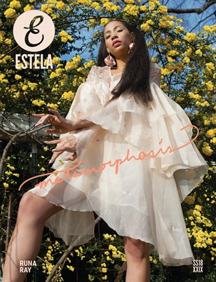 Estela Magazine: #SS18 - Metamorphosis Issue - Cover 2