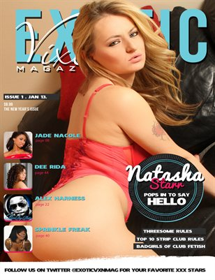 Exotic Vixen Magazine Issue 1. Jan 2013