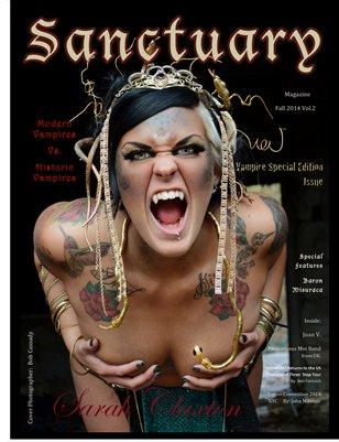 Sanctuary Magazine Vampire Issue Vol.2