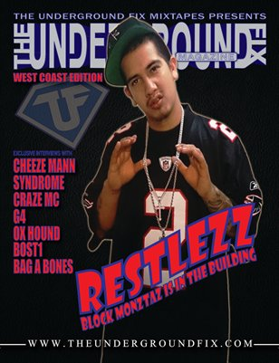 The Underground Fix Magazine 'West Coast Edition'