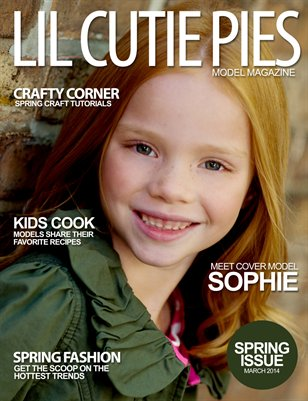 Lil' Cutie Pies Model Magazine Spring 2014 Issue