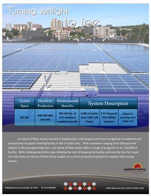 Ice House of NJ and Mercury Solar Systems Case Study
