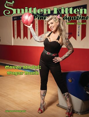 Smitten Kitten Pinup Magazine Cover 3 Sugar Rush April 2020 Issue
