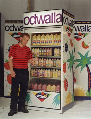 Revision In Progress: Odwalla Juice Cooler Manual 1995