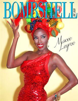 BOMBSHELL Magazine December 2020 - BOOK 1 Macee Legree Cover