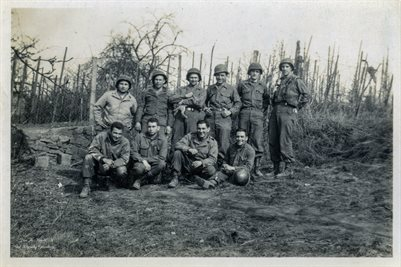 WORLD WAR 2 SOLDIERS IN HONNINGEN, GERMANY