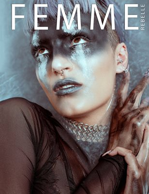 Femme Rebelle Magazine October 2018 BOOK 3 - Rhiannon Laite Cover