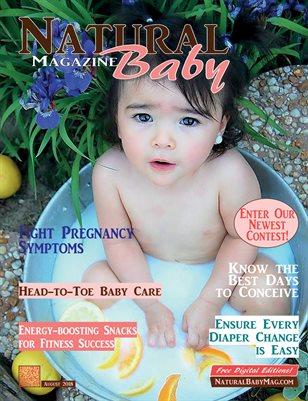 Natural Baby Magazine August 2018