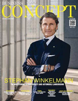BUSINESS CONCEPT Mag - STEPHAN WINKELMANN - May/2021 - #22 - PLPG GLOBAL MEDIA