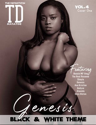 TDM: Genesis Black&White theme Vol.4 Cover1