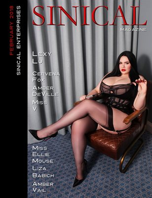 Sinical February 2018 - Lexy Lu cover edition