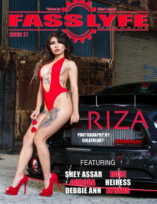 FASS LYFE MAGAZINE ISSUE 27 FT RIZA