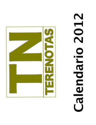 Calendario Terenotas 2012