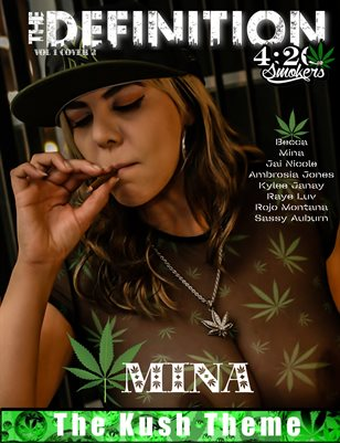 The Definition of High: Mina The Kush Theme Vol.1 cover 2
