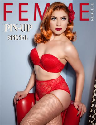 Femme Rebelle Magazine PIN-UP SPECIAL - April 2017 Claire Seville Cover