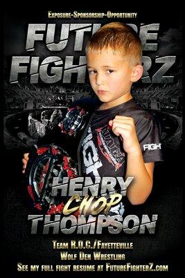 Henry Thompson Arena Poster