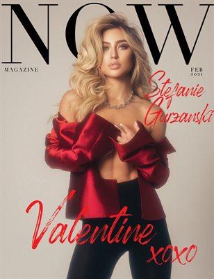 NOW Magazine February 2021 Issue Stefanie Gurzanski