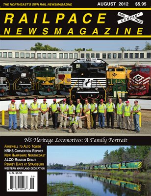 August 2012 Railpace Newsmagazine