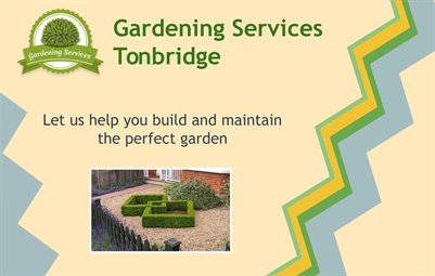Professional Gardeners in Tonbridge