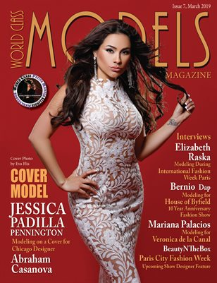 World Class Models Magazine Issue 7 with Jessica Padilla Pennington