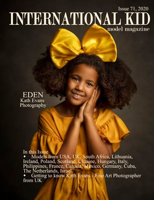 International Kid Model Magazine Issue #71