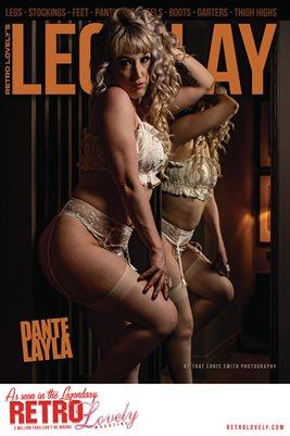 LEG PLAY No.4 – Dante Layla Cover Poster