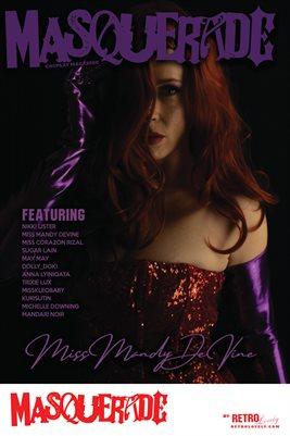 Masquerade No.10 – Miss Mandy DeVine Cover Poster