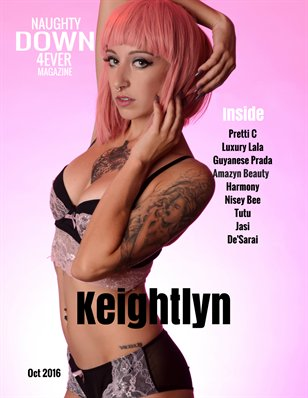 ND4E: October 2016 Issue Featuring Keightlyn (Cover)