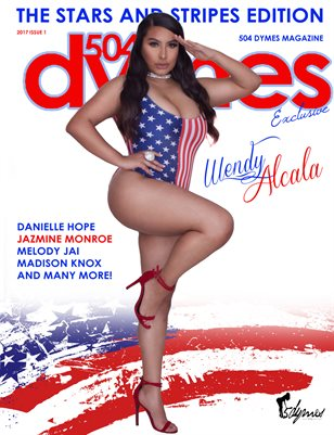 504Dymes Magazine Stars And Stripes Edition Vol. 3