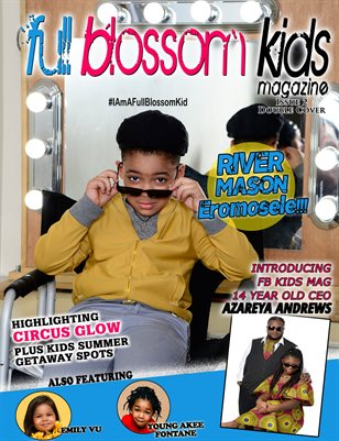 Full Blossom Magazine Issue 2- River Mason Eromosele Cover