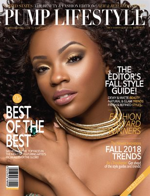 PUMP Lifestyle - The Beauty & Fashion Edition | November 2018 | V.I