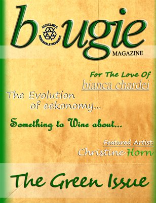 Bougie Magazine Green Issue 2013