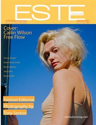Este Fashion Magazine Issue 1 Cailin Wilson Cover