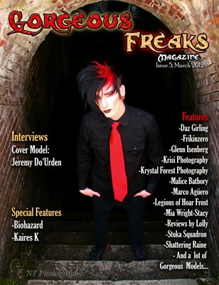 Gorgeous Freaks Magazine Male Cover Issue 5